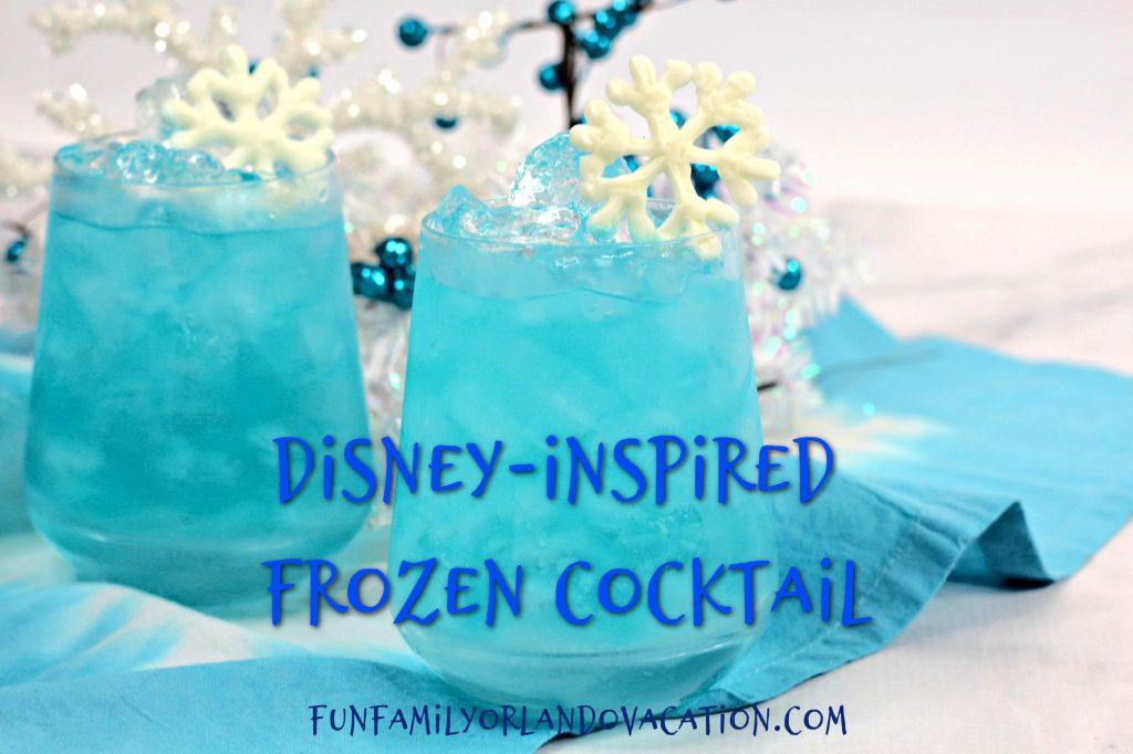 Disney-Inspired Frozen Cocktail