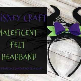 Maleficent Mickey ears
