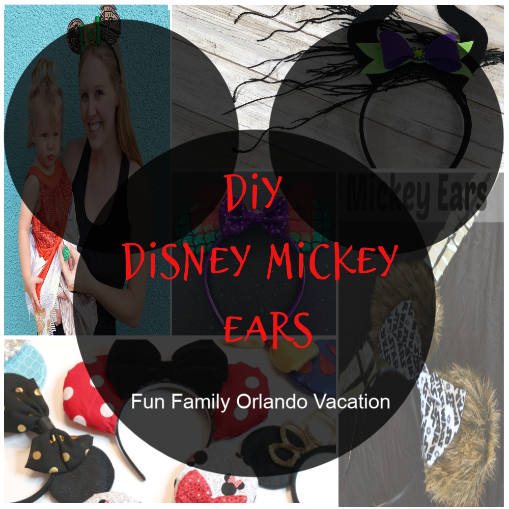 DIY Disney Mickey Ears